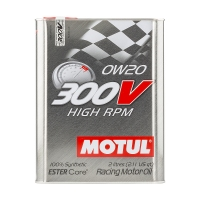 MOTUL 300V High RPM 0W20, 2л 104239